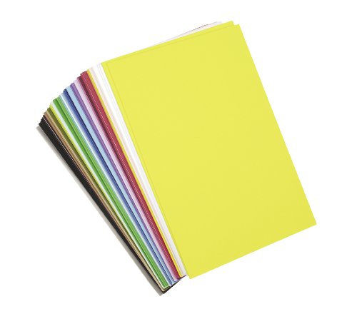 "Darice Foamies Foam Sheets Multipack - Assorted Vibrant Colors - Great for Craft Projects with Kids, Classrooms, Camps, Scouts, Parties - 6"" x 9"" Per Sheet, 40 Sheets Per Pack"