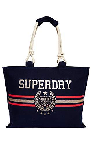 Tote Amaya Superdry À Blu Main Sac Rope crest Navy 44UrndqS