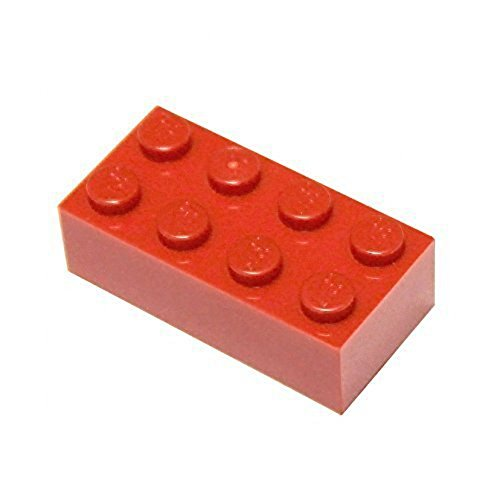 LEGO Parts and Pieces: Red (Bright Red) 2x4 Brick x50