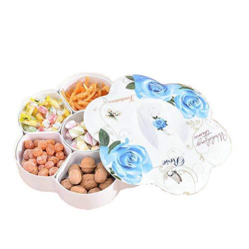 DROHE-Q Caja de la Sub-Rejilla Frutos de Caramelo Secos Comida para refrigerios a Prueba de Polvo Duradero Sellado Saludable...