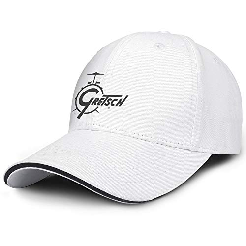 Mens/Womens White Classic Cotton Baseball Hat Youth Adult Stylish Casual Fashion Adjustable Snapback Cap