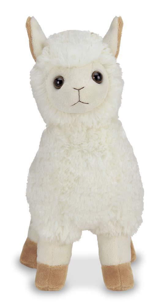 Bearington Lil Alma Small Plush Stuffed Animal Llama 7 inches