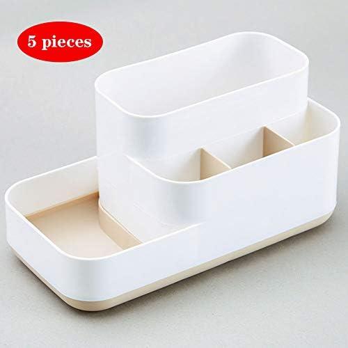 化粧品収納ボックス多機能化粧オーガナイザーは、メイクブラシ香水のための内閣化粧品のストレージを表示します,B