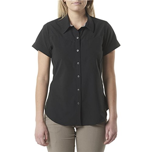 5.11 Women'sn Freedom Flex ss shirt Black, Small by 5.11