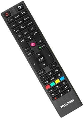 Original RC4876 / 30088184 Mando a Distancia TV para específicos Telefunken Modelos de televisión: Amazon.es: Electrónica