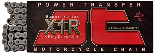 - JT Sprockets JTC520X1R2112DL Steel 112-Link Heavy Duty X-Ring Drive Chain (520 X1R2)