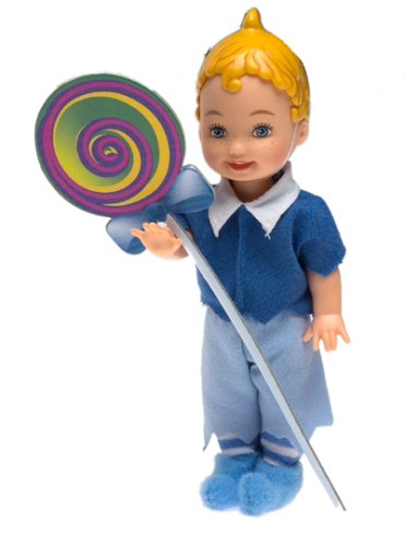 Tommy as Lollipop Munchkin - Barbie The Wizard of Oz