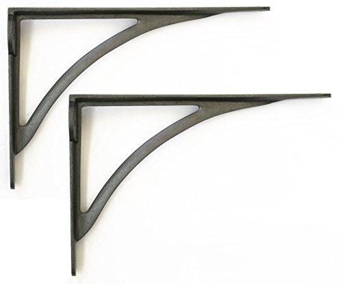 Staffe Per Mensole In Ferro.Heritage Casting Coppia Di Staffe In Ghisa Per Mensole In Stile