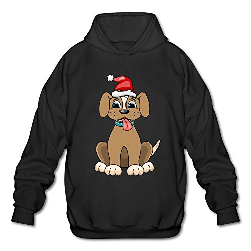 Hoodie Boy MPIQW Sweatshirt Hat Red Pullover Portrait Christmas Santa Dog Athletic Black wwdqZ0