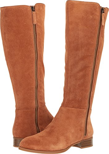 Nine West Women's NIHARI Dark Natural Suede, 8.5 M US (Nine West Booties Suede)