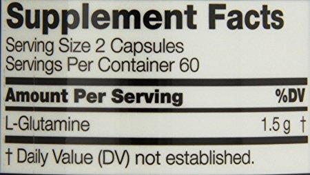 Twinlab Glutamine Fuel - 120 Capsules