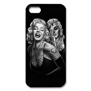 Monroe Hard Plastic Back Cover Case for iphone 5/iphone 5s