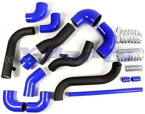 1010809 Ladeluft Verrohrung Golf 3 Vr6 Turbo Einbauset Ladeluftkühler Garrett Llk Offen Auto