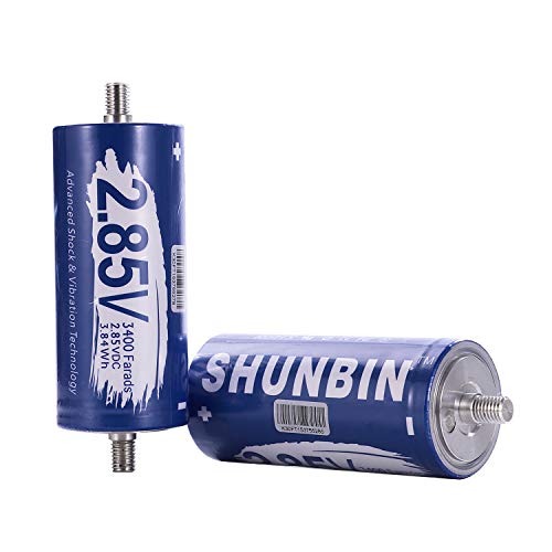 SHUNBIN Graphene Super Capacitor 2.85V 3400F Solar Power System Hybrid car Battery