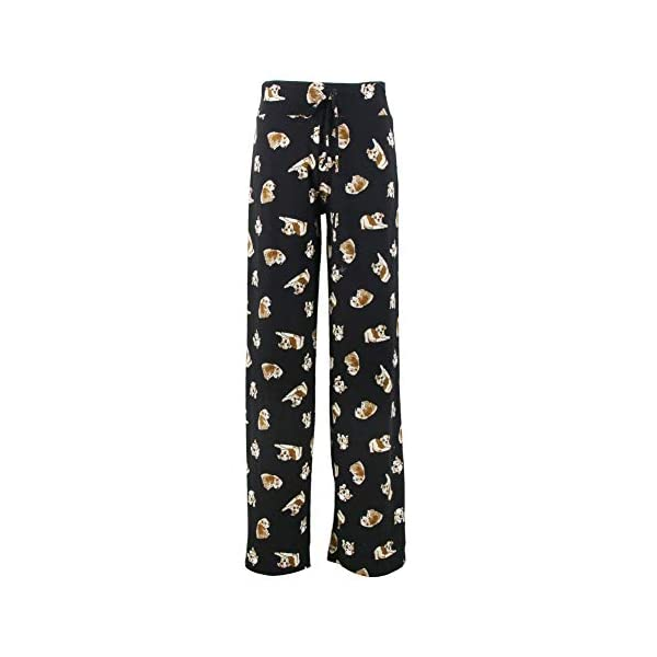 Buttery Soft Pajama Pants for Women – Floral Print Drawstring Casual Palazzo Lounge Pants Wide Leg for All Seasons 1