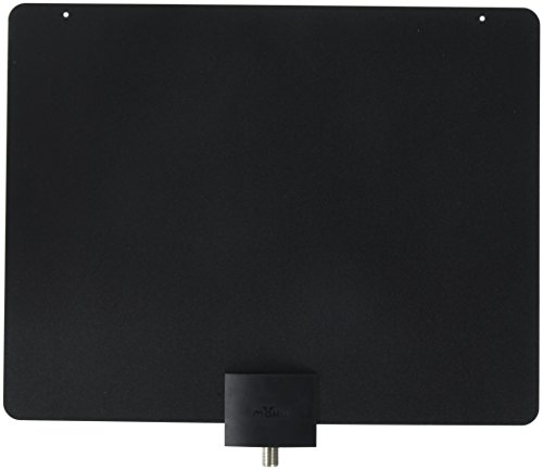Mohu Television Antenna Leaf 30 Paper-Thin Indoor HDTV Antenna for Free TV MH-110502 (Renewed) (Best Quality Television Brands)