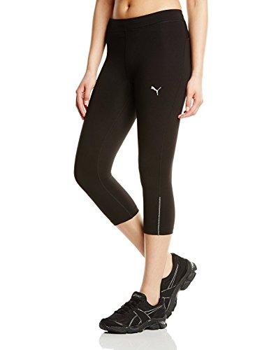 (PUMA Essentials Women's Capri Running Tights - SS15 - X Small - Black)