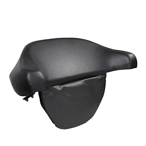 XFMT Black Tour Pack Pak Backrest Pad Trunk For Harley Electra Street Glide 1997-2013 - Tour Pak Backrest Pad