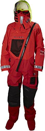 Helly-Hansen Men's Ægir Ocean Survival Suit, 222 Alert Red, 2X-Large
