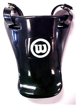 Wilson Throat Protector (Black, 4-Inch) - Throat Protection
