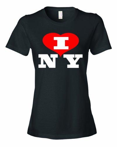 Ladies I Love NY New York heart NYC Funny (Capitale Nyc Halloween)