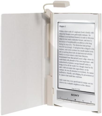 Sony PRSACL10W.WW2 - Funda con luz para ebook reader, color blanco ...