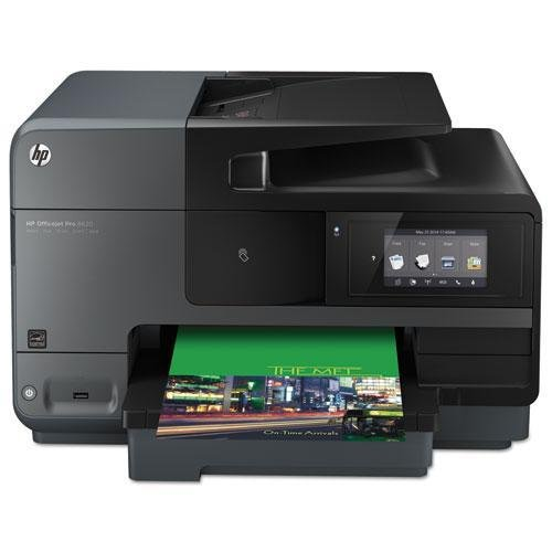 HEWA7F65A - HP Officejet Pro 8600 8620 Inkjet Multifunction Printer - Color - Plain Paper Print - Desktop