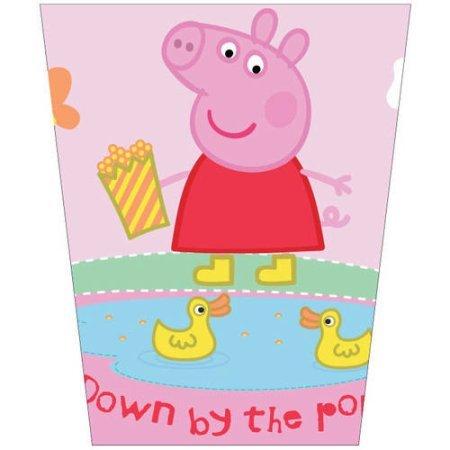 Kids Wastebaskets (Peppa Pig Wastebasket - Garbage Can - Peppa's Pond)