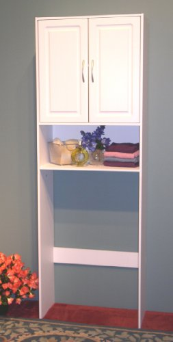4d Concepts Storage (4D Concepts Double Door Spacesaver, White)