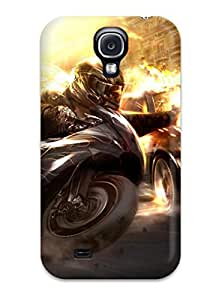 New Premium CaseyKBrown Wheelman Skin Case Cover Excellent Fitted For Galaxy S4