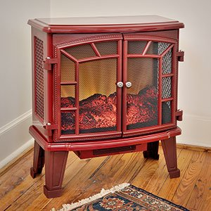 duraflame-950-cranberry-electric-fireplace-stove-with-remote-control-dfs-950-7