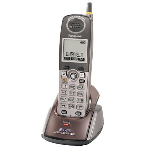 Panasonic KX-TGA550M Accessory Handset for KX-TG5500 Series Cordless Phones ()