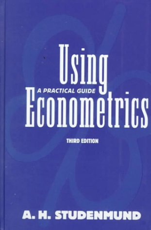 Using Econometrics: A Practical Guide (3rd Edition)