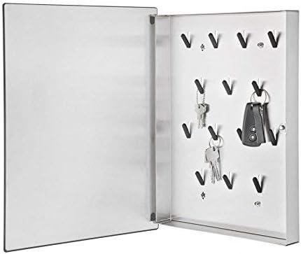 Blomus - VELIO - Armoire à clés / tableau magnétique en verre blanc - 65370