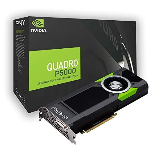 chollos oferta descuentos barato PNY Quadro P5000 Quadro P5000 16GB GDDR5X Tarjeta gráfica NVIDIA Quadro P5000 7680 x 4320 Pixeles 16 GB GDDR5X 256 bit