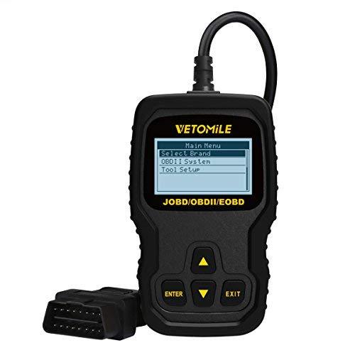 VETOMILE VT127 Universal JOBD OBD2 EOBD Diagnostic Scanner [並行輸入品]   B07K818DYG
