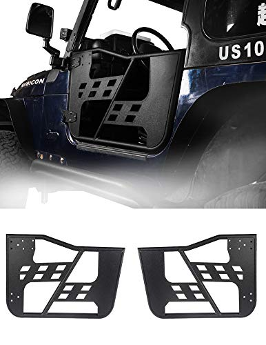 - u-Box Tubular Door Half Doors Offroad Rock Crawler for Jeep Wrangler TJ 97-06