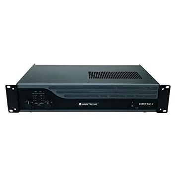 Omnitronic 10451056 E-300 MK2 - Amplificador: Amazon.es: Instrumentos musicales