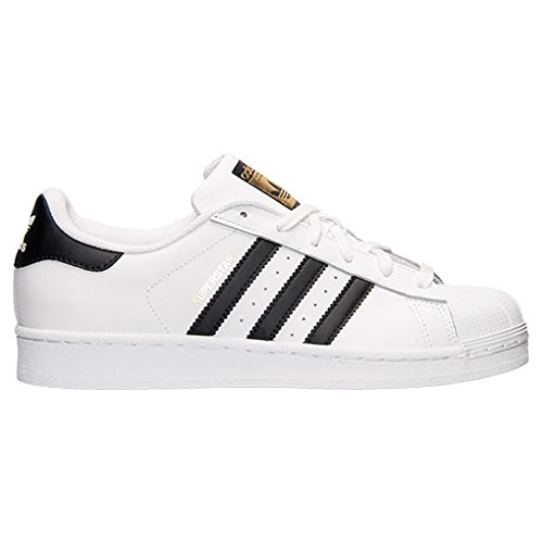 adidas Originals Women's Superstar Shoes, White/Black/White, (6 M US)