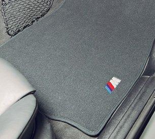 BMW Carpet Floor Mats Z4M Coupe & Roadster (2006-2008) - Black
