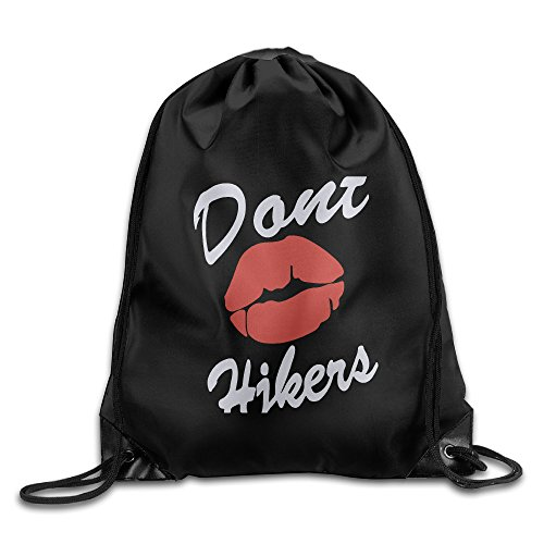 Price comparison product image AGMPO Dont Kiss Hitler Drawstring Backpacks Sack Bags