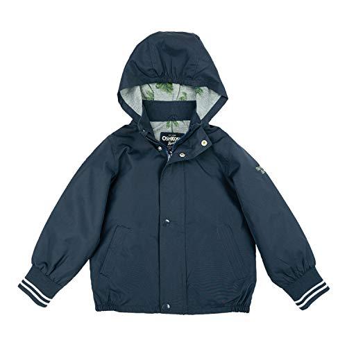 - OshKosh B'Gosh Boys' Toddler Jersey Lined Bomber Jacket, Navy, 2T