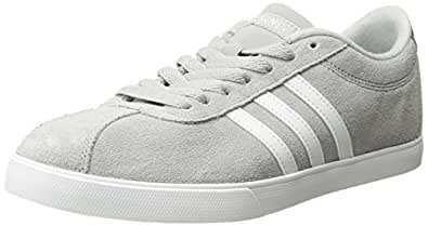 adidas Womens Courtset Grey Size: 5