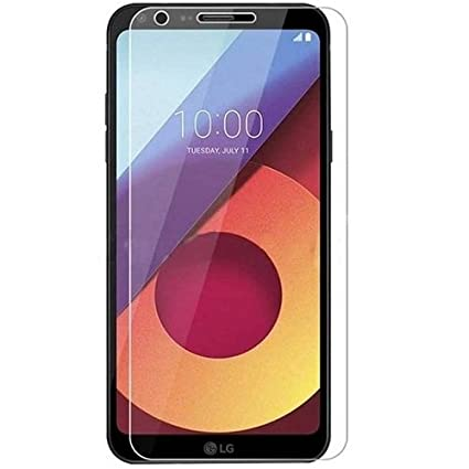7ROCKS 0.25mm 2.5D  Tempered Glass Screen Protector for LG Q6 Plus Screen Protectors