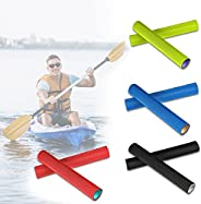 TRYAH 4 Pairs Kayak Paddle Grips, Non-Slip Colorful Paddle Grip, Blister and Callouses Prevention Kayaking Acc