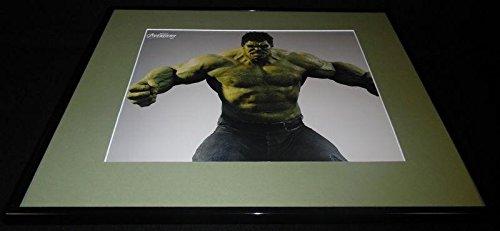 Avengers Hulk Flexing Bruce Banner Mark Ruffalo Framed 16×20 Poster Di