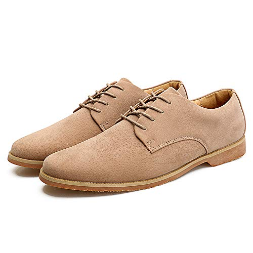 Scarpe Oxfords Lace Scarpe Vera Cachi Stringate Up Heel da in Flat Piatte Cricket Pelle Rq4RvwrE