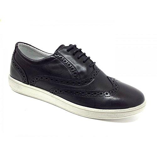 IGI&Co Zapatillas de Piel para hombre Negro negro