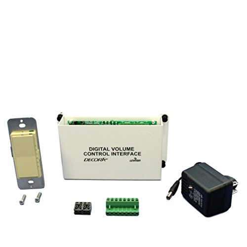Leviton Structured Media Center Ivory Digital Audio Volume Control Module Kit 48211-IVK - Leviton Structured Media Center Video