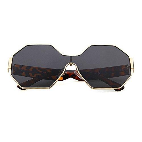 del Las de Protección de Pieza Verano Las de UV del Polígono Peggy Marco de Gafas del Vacaciones Playa Sola Mujeres Sol Marrón Las la Color una Gu Conducir de para Gris metálico wSFx5qp